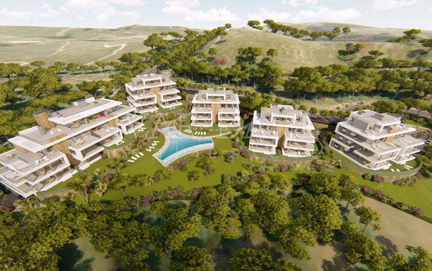 Agora, New modern apartments and penthouses with sea views in Estepona