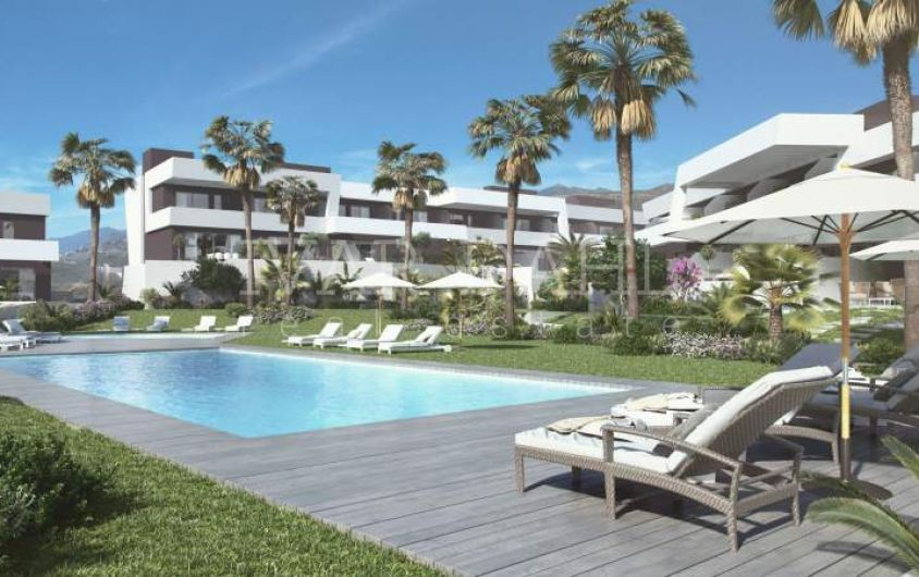 New contemporary Townhouses in La Cala de Mijas, Malaga, Costa del Sol