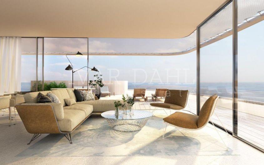 Neue moderne Wohnungen direkt am Strand von Estepona