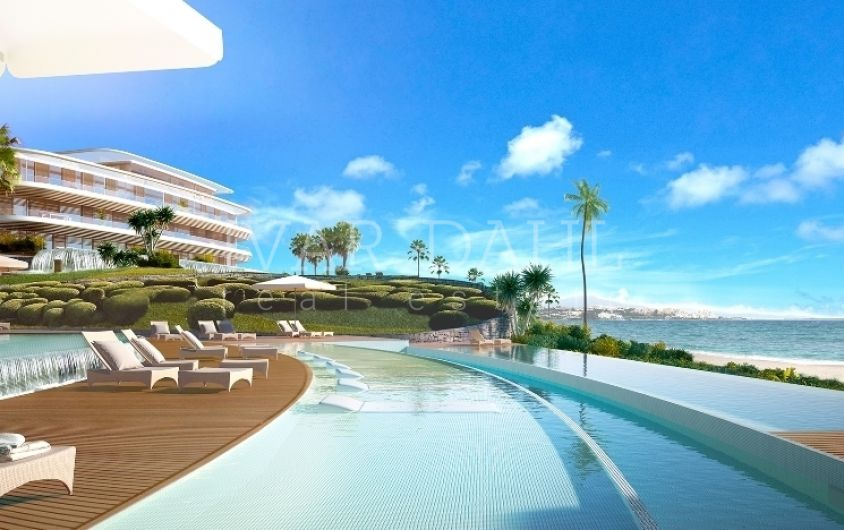 New luxury Front Line Beach Apartments in Estepona, Malaga