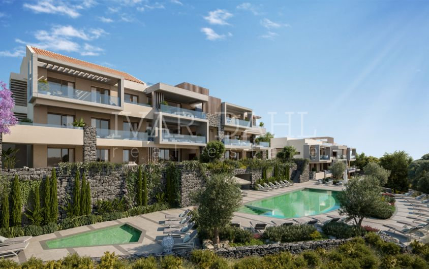 New luxury apartments in Benahavis