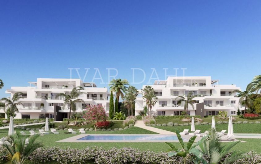 New exclusive development of modern apartments in Estepona