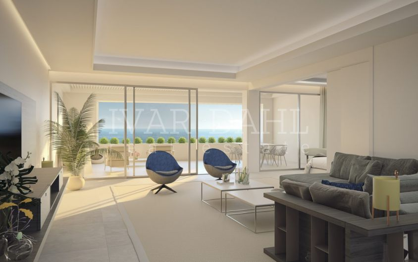 Estepona, new luxury front line beach apartments and penthouses for sale