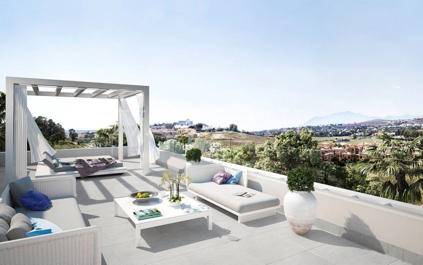 New luxury apartments and penthouses in Atalaya, Estepona