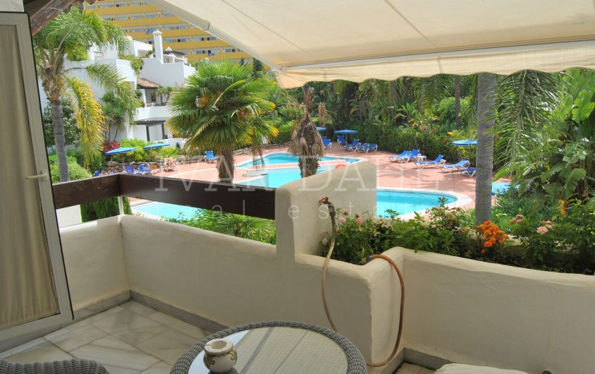 Apartment in Alhambra del Mar beach side of Marbella´s Golden Mile
