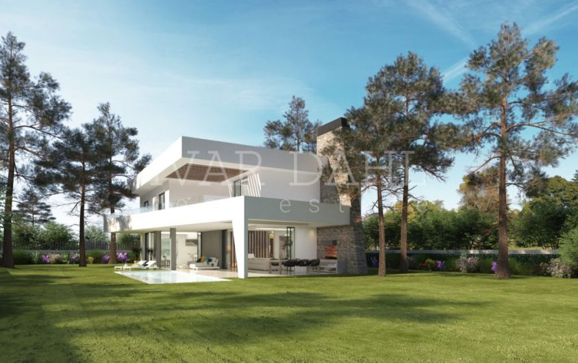 New villa in Elviria, Marbella east