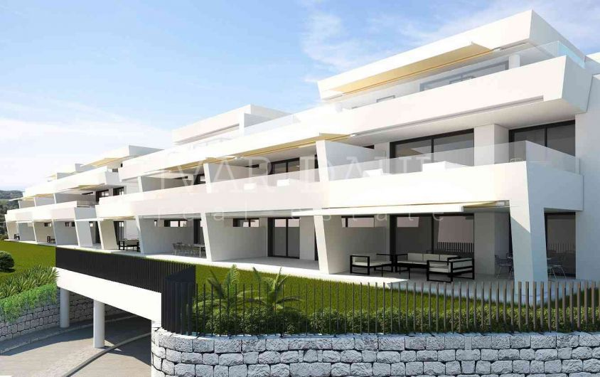 New apartments in Nueva Andalucia, Golf Valley, Marbella.