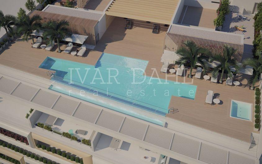estepona, malaga, neue luxuswohnungen in erster strandreihe