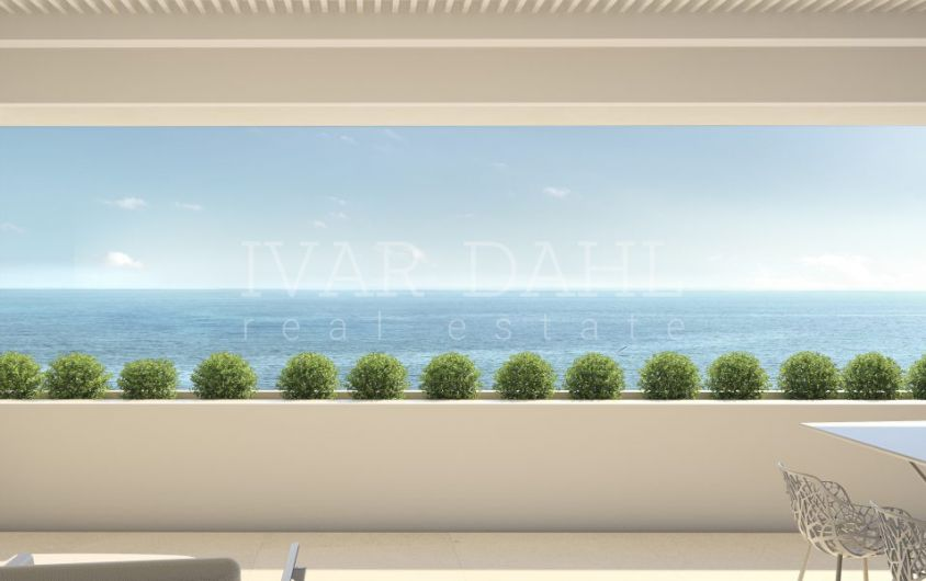 Estepona, new luxury front line beach homes