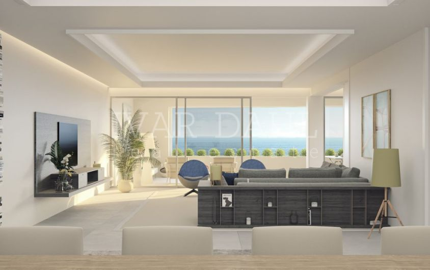 Estepona, 32 new front line beach luxury homes