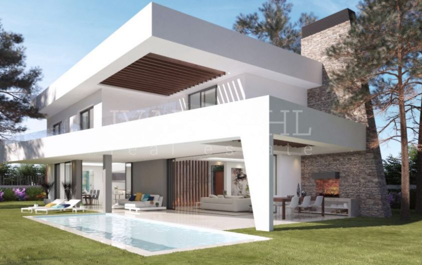 New modern villas in Elviria, Marbella east
