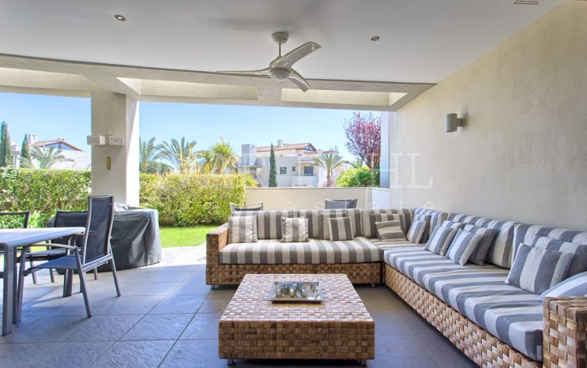 Lovely garden apartment for sale in Imara,Sierra Blanca, Marbella