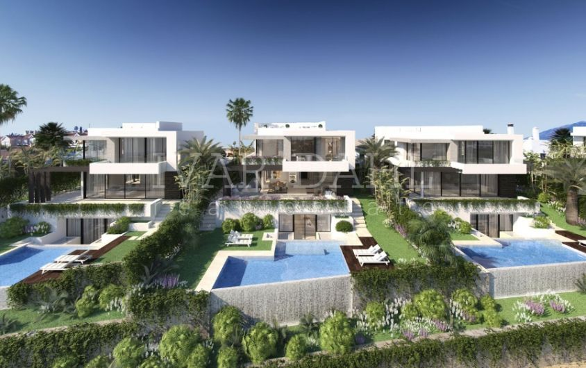 New contemporary Villas in Estepona, Malaga