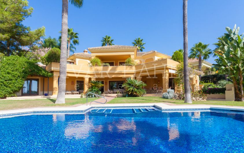 Villa for sale in Altos Reales, Marbella, Malaga, Costa del Sol