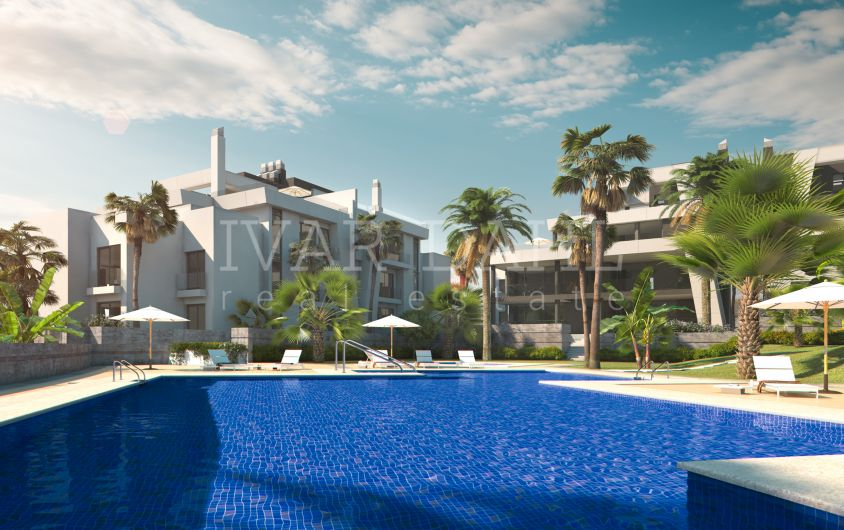 East Marbella, new contemporary apartments with sea views