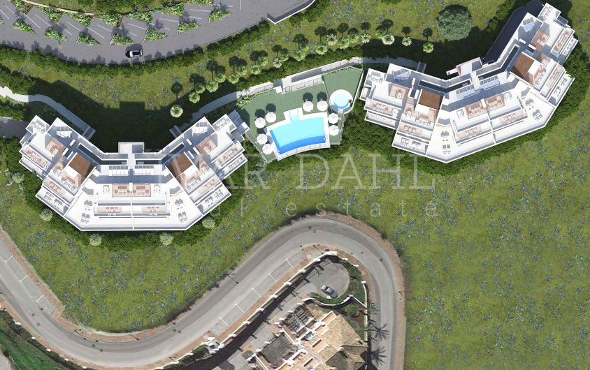 New build duplex penthouses for sale in La Cala Golf Resort, Mijas, Costa del Sol