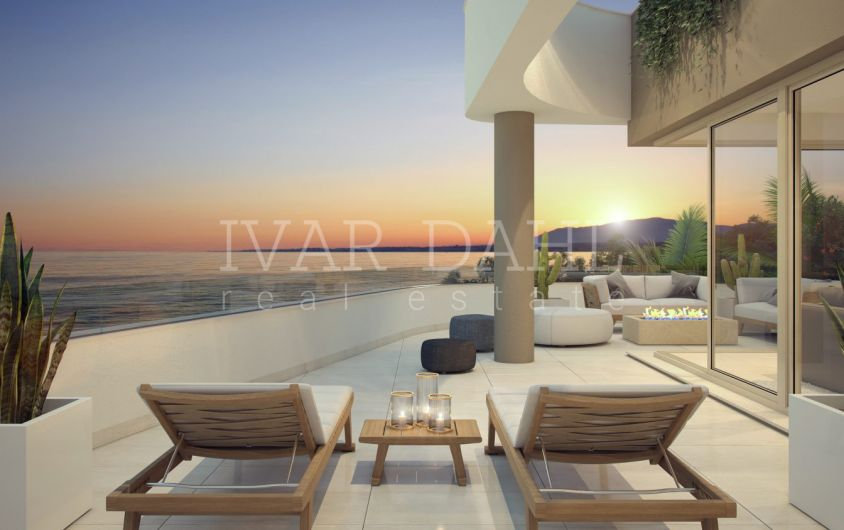 New modern apartments and penthouses with open sea views in Mijas-Costa, Malaga