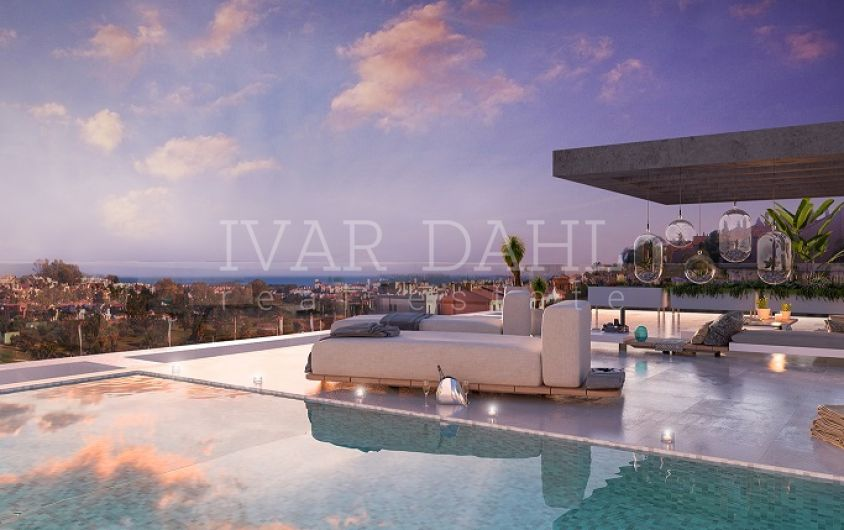 Estepona, new contemporary apartments and penthouses for sale