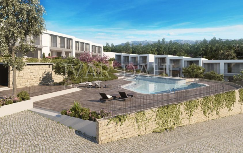 New modern front line golf town houses for sale in La Cala Golf, Mijas-Costa, Malaga