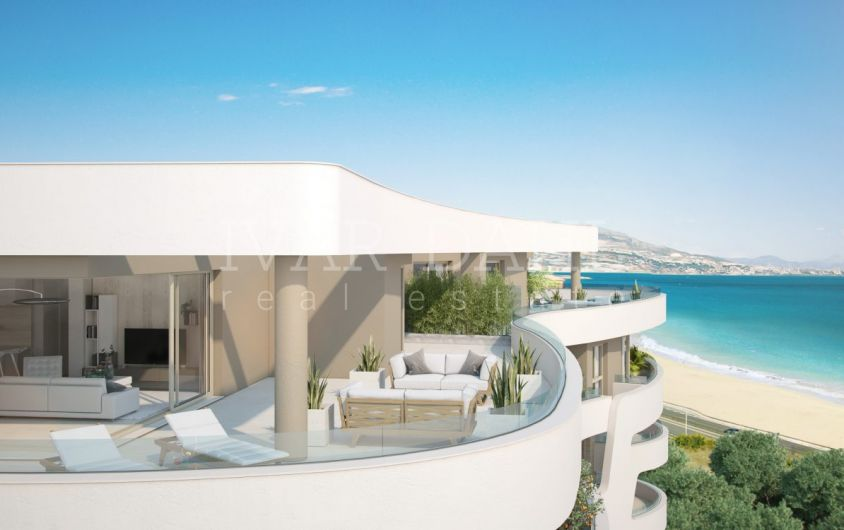 Mijas Costa, new modern apartments and penthouses with open sea views