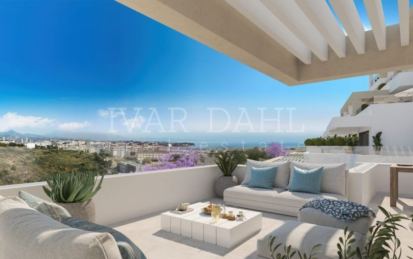Estepona, new modern apartments and penthouses for sale.