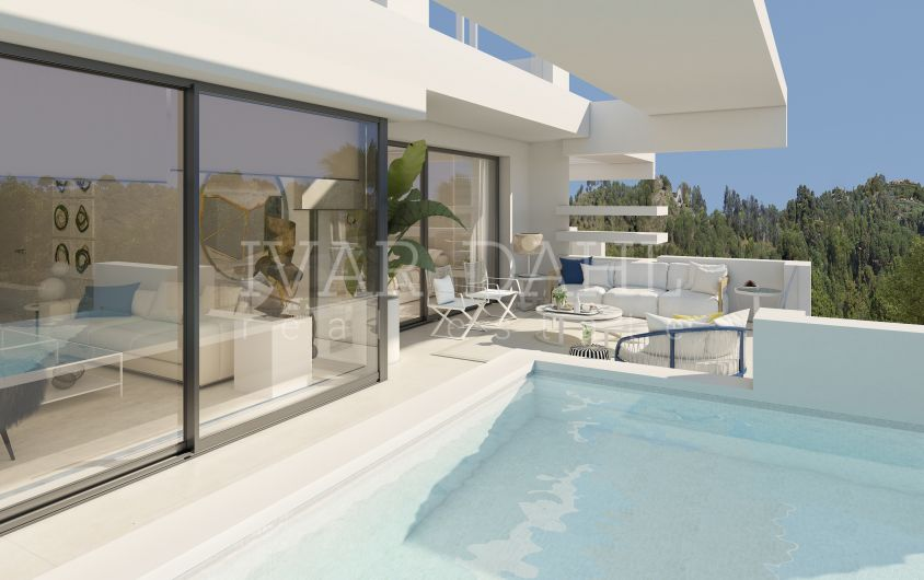 New luxury contemporary complex on Marbella's Golden Mile