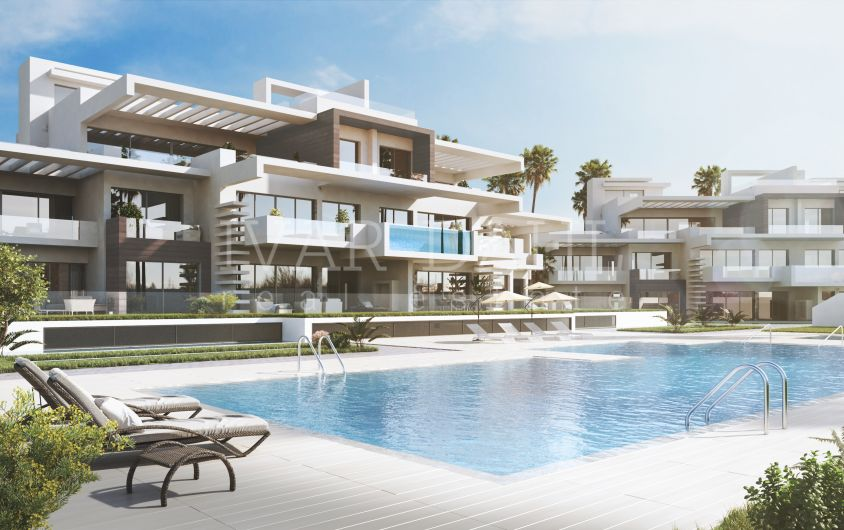 New contemporary luxury complex on Marbella's Golden Mile, Costa del Sol