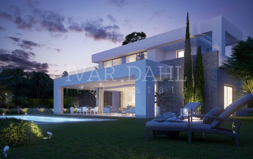 New contemporary villas in La Cala Golf, Mijas-Costa, Malaga