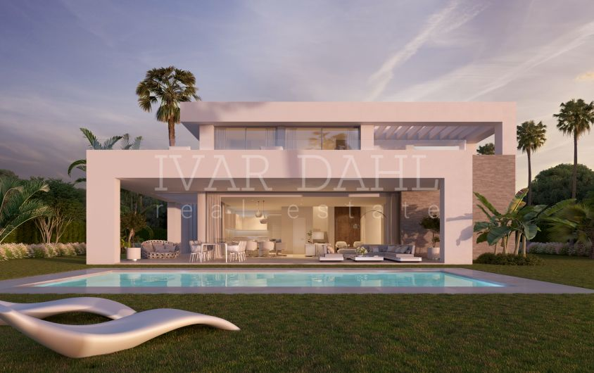 New modern villas in La Cala Golf, Mijas-Costa, Costa del Sol, for sale