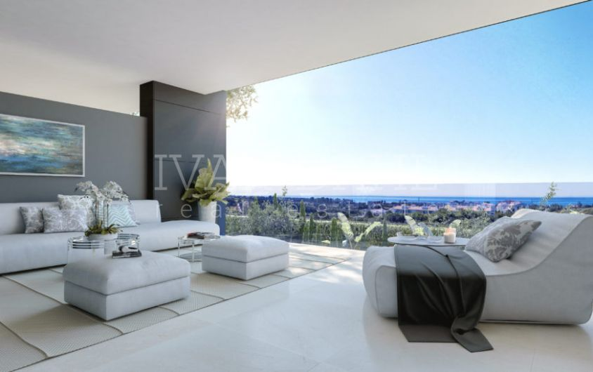 New apartments and penthouses for sale in Estepona