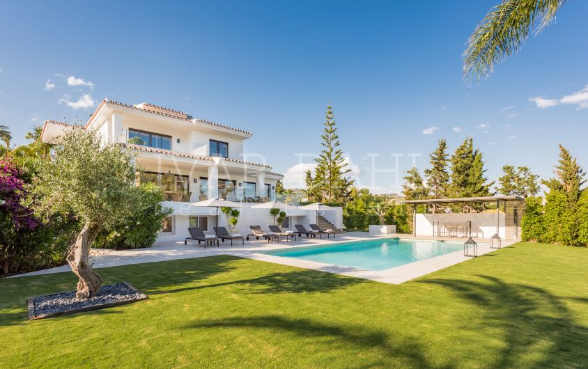 Contemporary, new, charming villa in Elviria, Marbella
