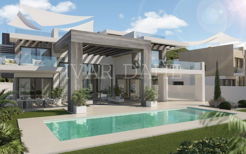 New, contemporary Villa on the Golden Mile, Marbella