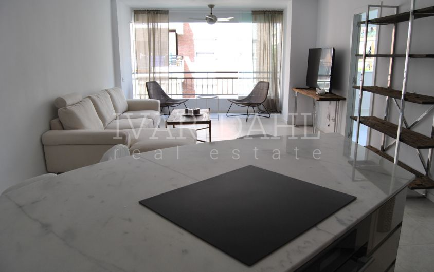 Refurbished apartment in centre Marbella, close to the beach