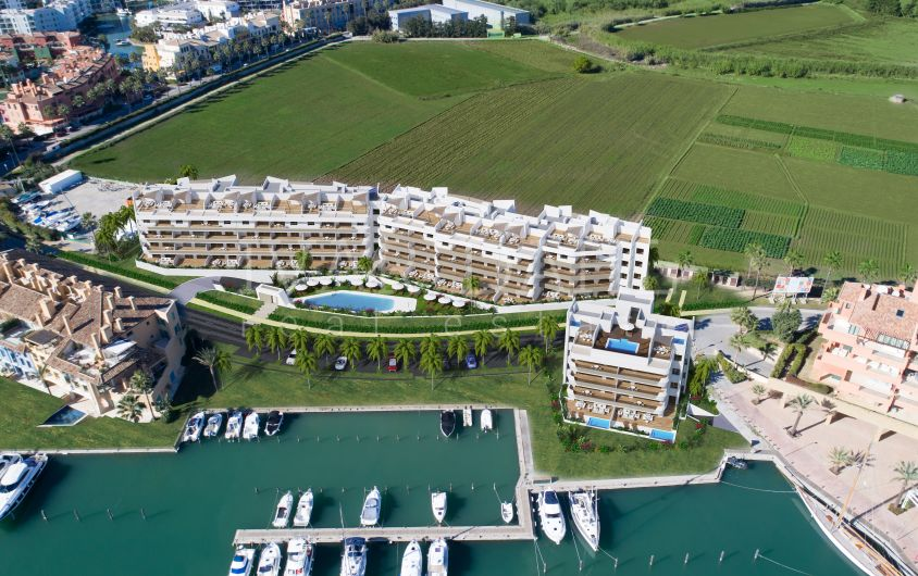 New 2 bedroom apartment in Marina de Sotogrande,