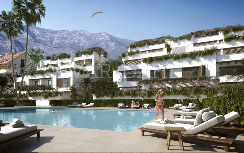 Brand new apartments and penthouses in Marbella, on the Golden Mile