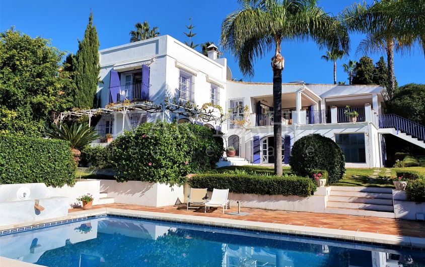 Charming villa with Swedish qualities and Andalusian design in Guadalmina Alta, Marbella, near Puerto Banus