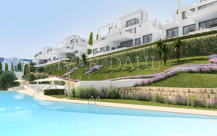 Mijas Costa, Málaga, amazing new apartments and penthouses on first line golf
