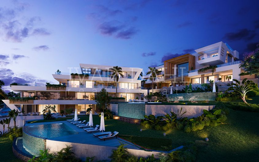 New, modern, small complex, apartments for sale, East of Marbella