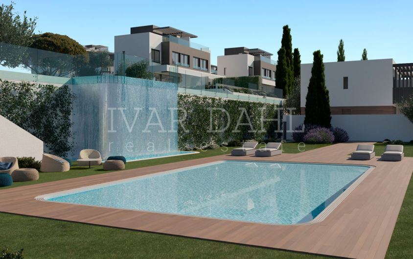 Atalaya Golf, Estepona, new semi-detached houses on first line golf