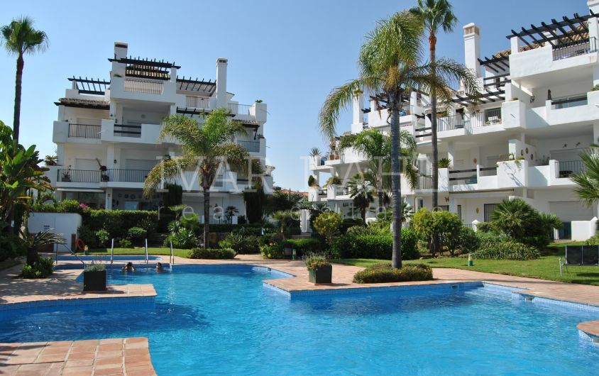 First line beach apartment in La Cala de Mijas, Málaga, Costa del Sol