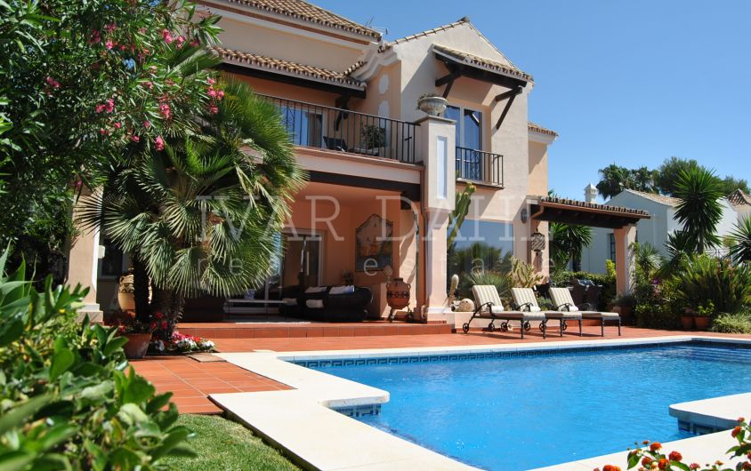 Cozy family villa for sale in Sierra Blanca, Golden Mile, Marbella