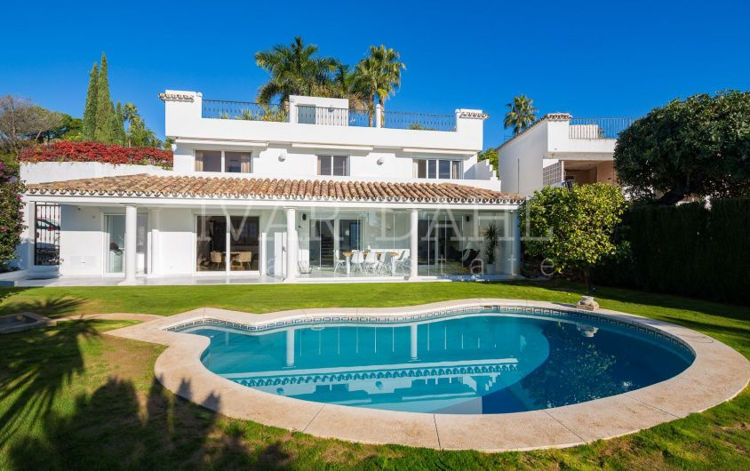 A refurbished Villa for sale in Altos Reales, Marbella, Malaga