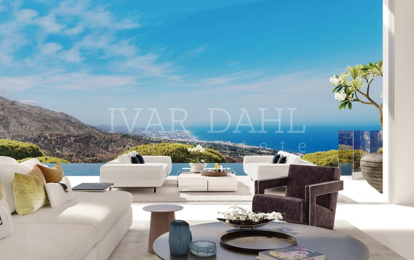 Benahavis, New luxury modern Villa with the best coastal views of Marbella and surroundings