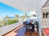 Large first line beach apartment in Marbella with spectacular sea views