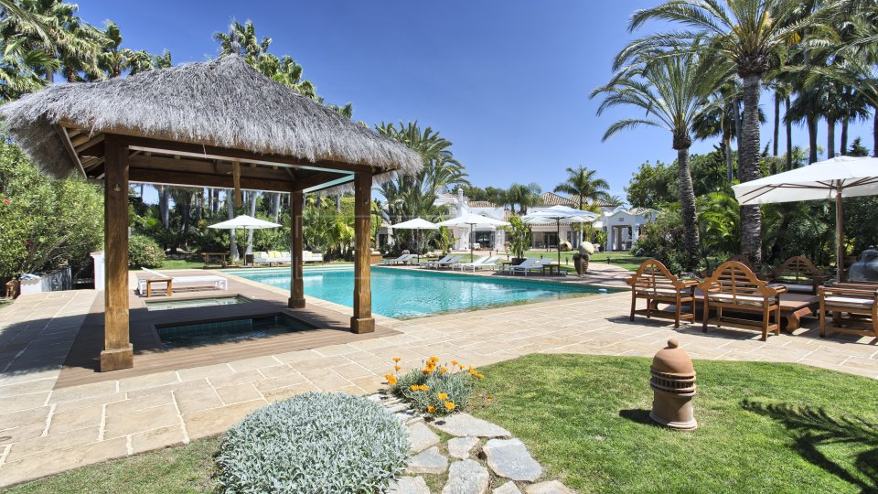 San Pedro de Alcantara, Andalusian Cortijo close to the beach in the luxury residential area of Guadalmina Baja