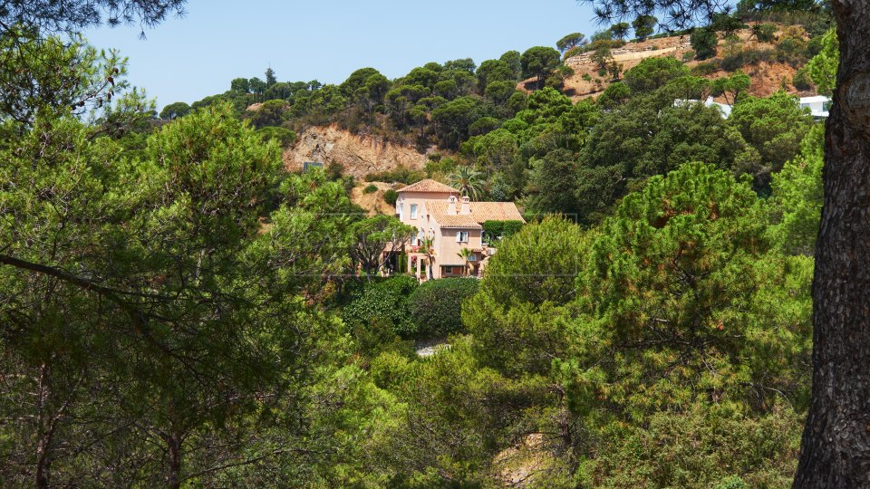 Benahavis, Rustic style villa with views in el Madroñal