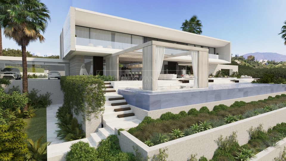 Benahavis, Brand new villa in El Madroñal