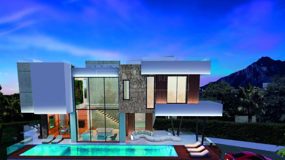 Marbella Golden Mile, Newly built villa for sale in Casablanca, Marbella Golden Mile