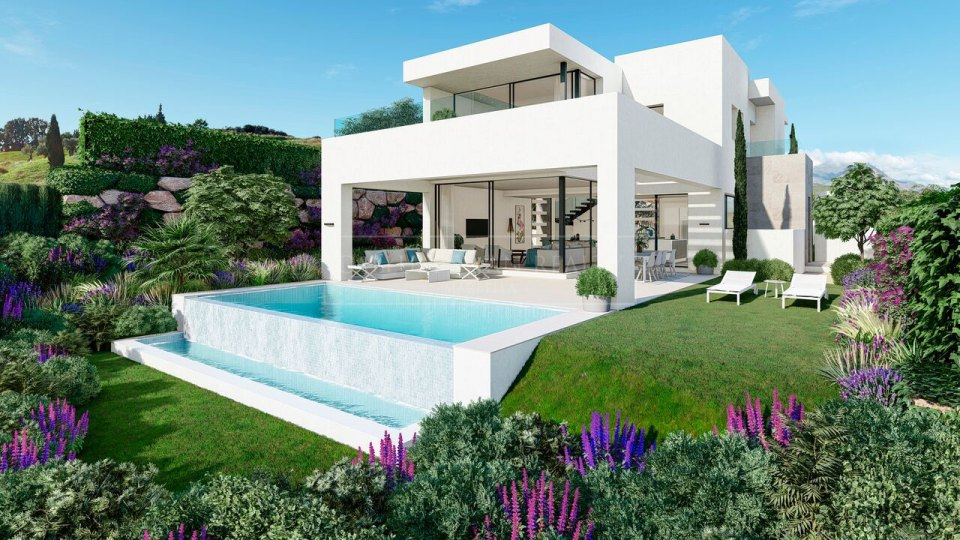 Estepona, Luxury modern villas, located in Estepona Golf