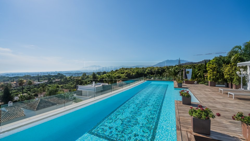 Marbella Golden Mile, Breath taking duplex-penthouse in Reserva de Sierra Blanca, Marbella Golden Mile